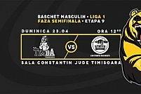BC Timba Timisoara - CSU Stiinta Bucuresti