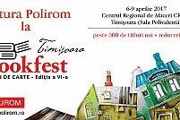 Evenimente Polirom sub egida Salonului de Carte Bookfest Timişoara, ediția a VI-a