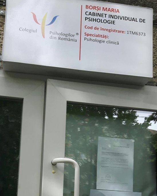 Cabinet Psihologie clinica pe strada Sfintii Apostoli Petru si Pavel