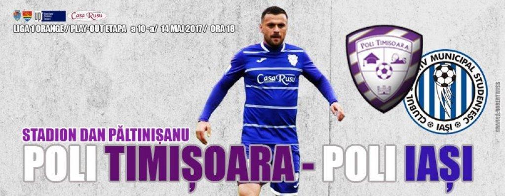 ACS Poli Timisoara - Poli Iasi