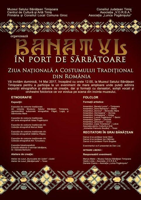 Banatul in Port de Sarbatoare - Ziua Nationala a Costumului Traditional din Romania