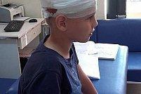 Copil atacat de caine din neglijenta stapanului in Sat Albina