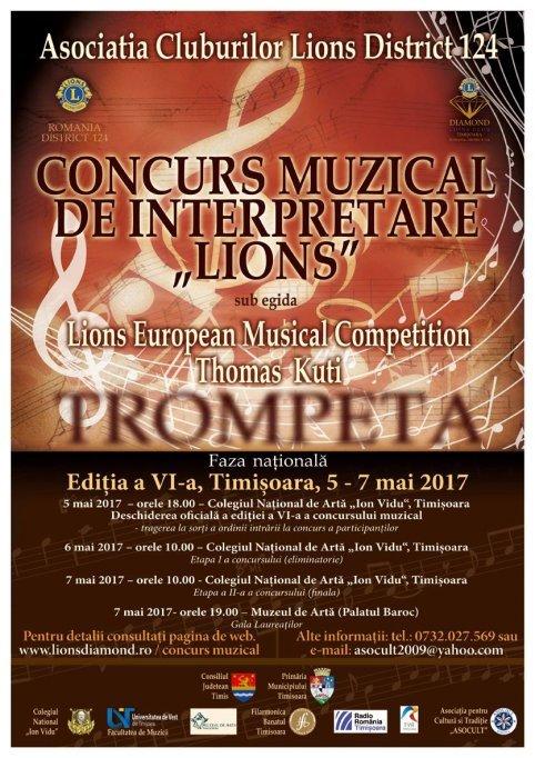 Concursul international de interpretare muzicala Lions
