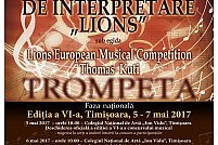 Concursul international de interpretare muzicala Lions