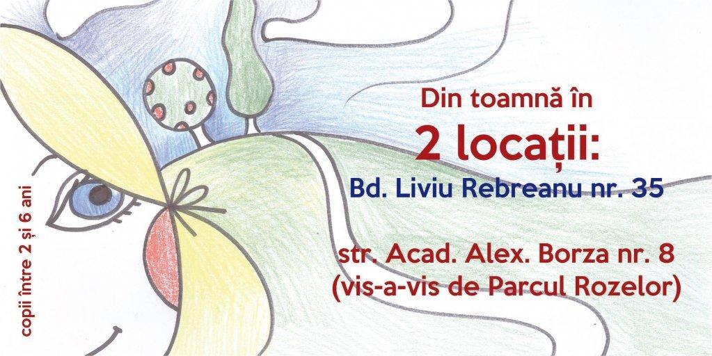 """Din toamnă GRĂDINIȚA """"TROIȚA"""" ... în 2 locații!"""