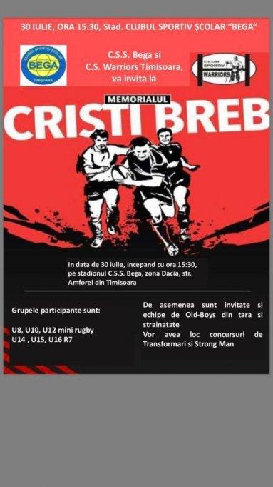 Memorialul Cristi Breb la Rugby