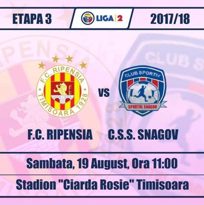 FC Ripensia - CSS Snagov
