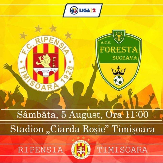 FC Ripensia - Foresta Suceava