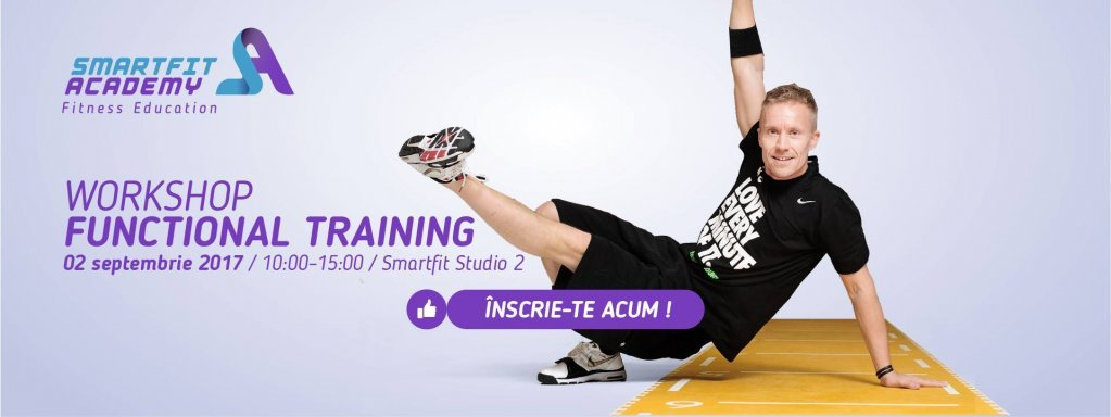"Workshop ""Functional Training"" cu Per Markussen"