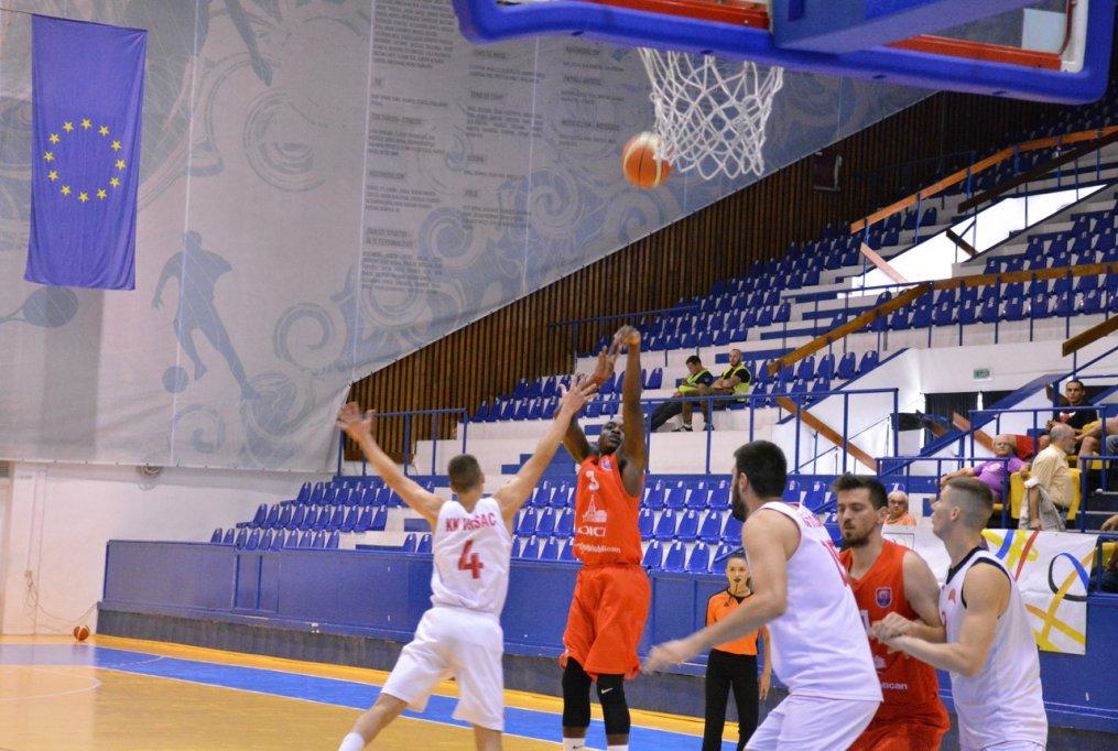 CSU Oradea 99–101 KK Vrsac