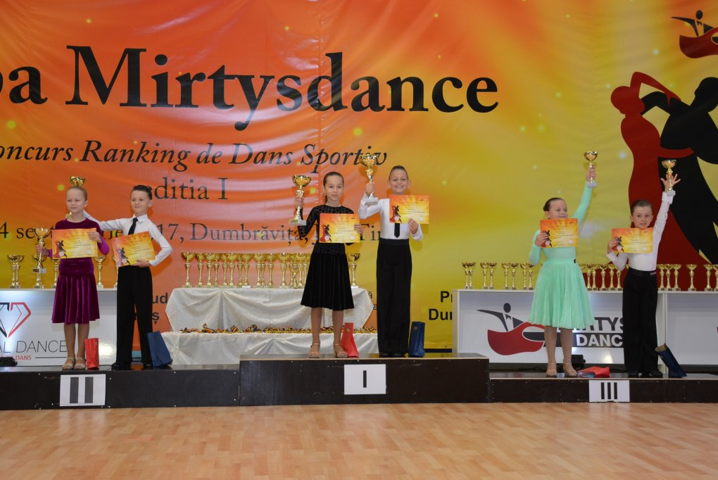 Cupa MirtysDance - 24 septembrie 2017