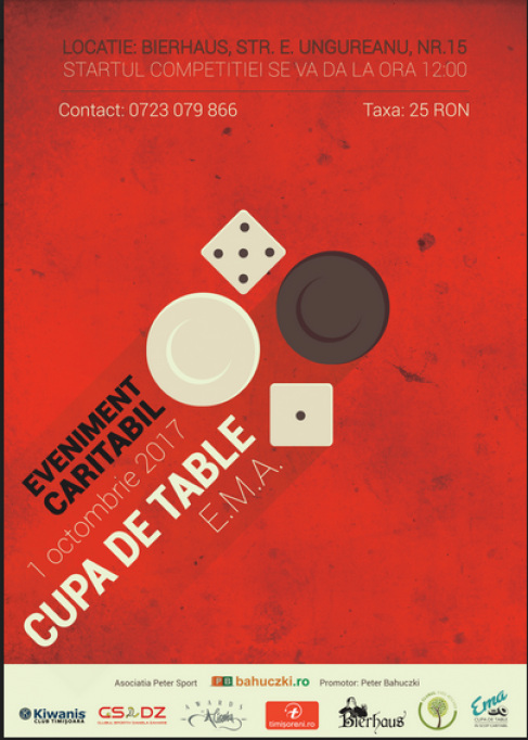 Cupa de Table E.M.A. - eveniment caritabil
