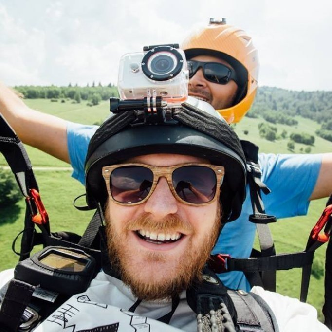 SkyRush Paragliding- Zboruri cu Parapanta