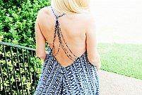 Rochia de vară fără spate