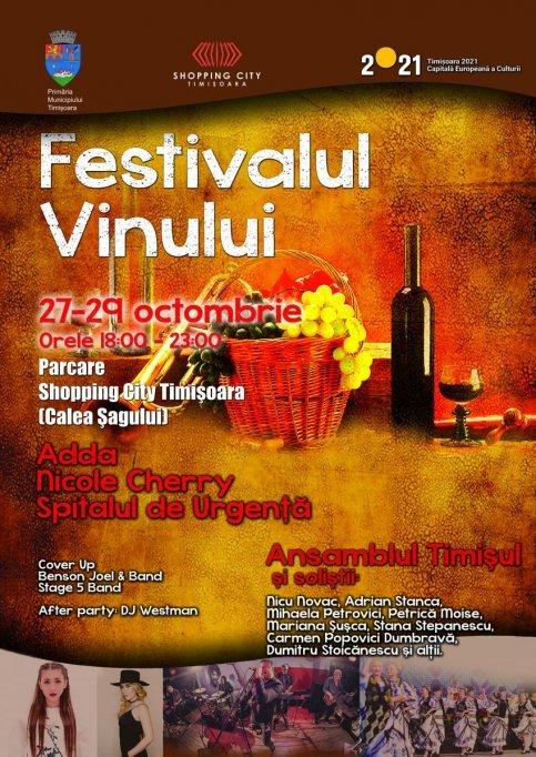 Festivalul Vinului de la Timisoara