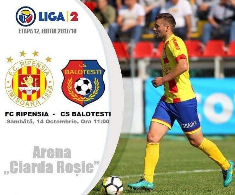 FC Ripensia - FC Balotesti