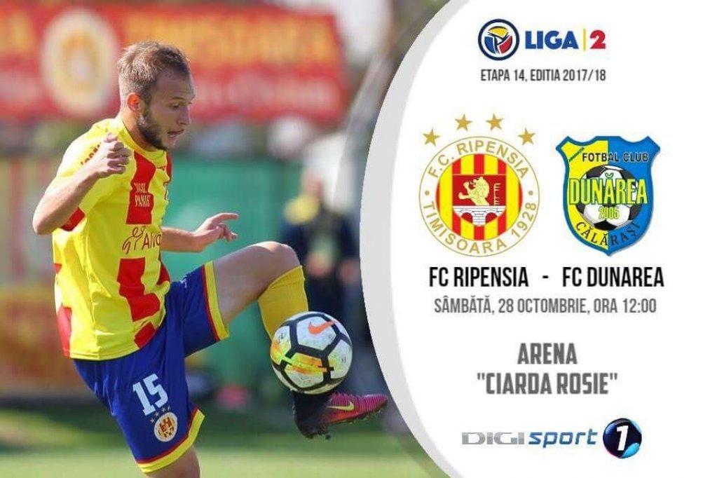 FC Ripensia - FC Dunarea Calarasi