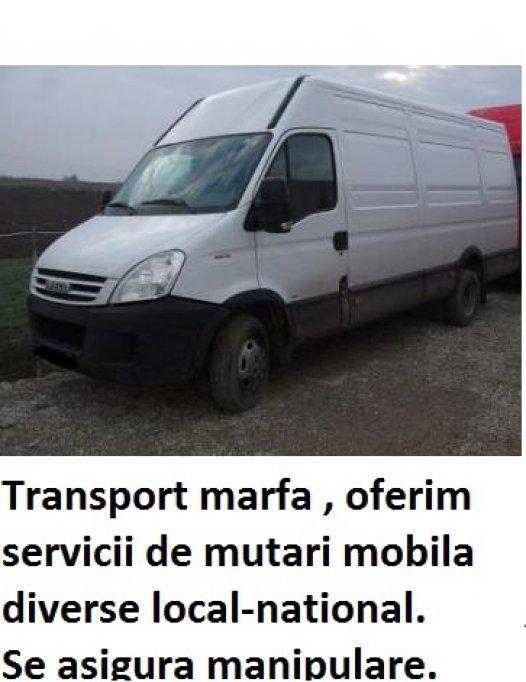 Transport mobila - mutari mobila - mutari diverse -bagaje Timisoara