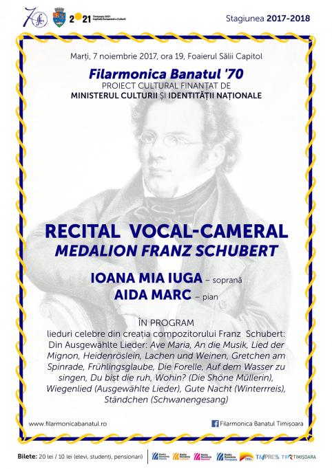 Recital Vocal-Cameral Medalion Franz Schubert