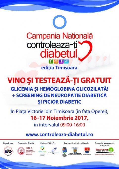 Campania Nationala Controleaza-ti Diabetul 2017
