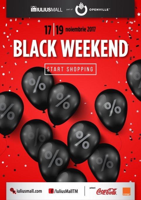 Black Weekend la Iulius Mall