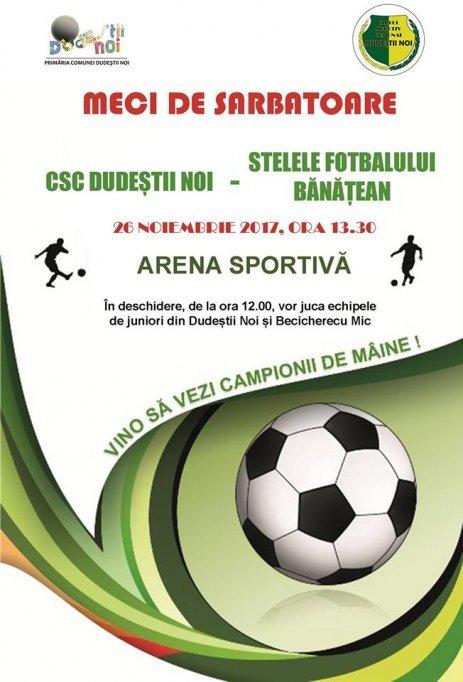 CSC Dudestii Noi - Stelele Fotbalului Banatean