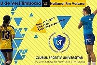 CSU Universitatea de Vest Timisoara - National Ramnicu Valcea
