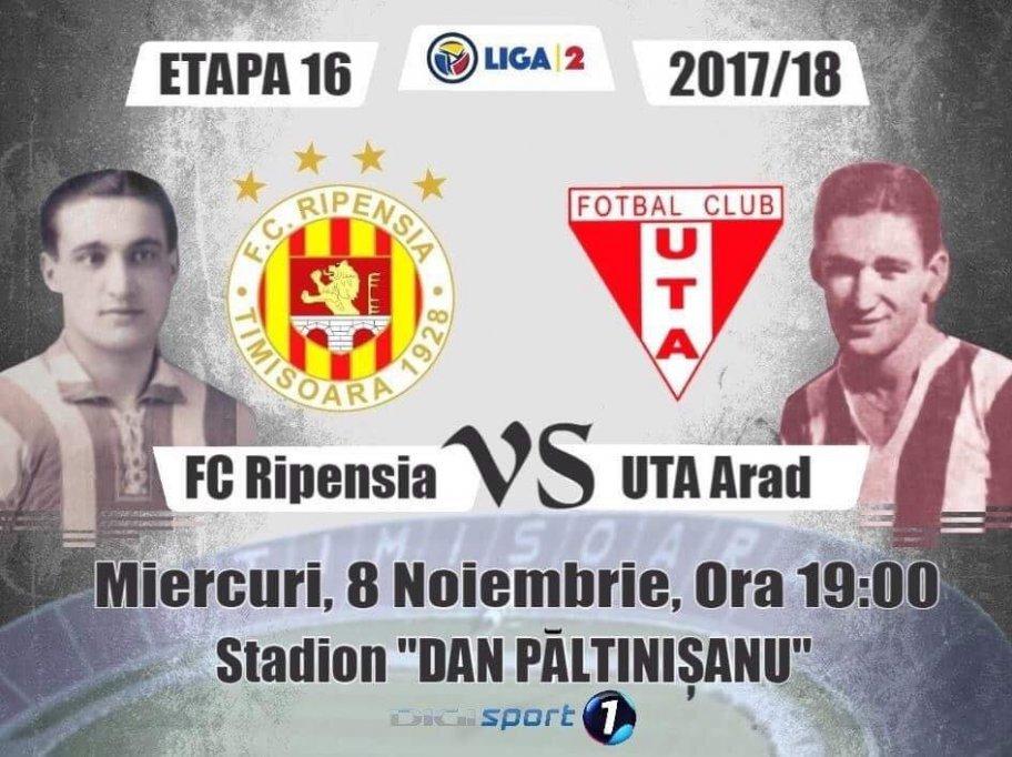 FC Ripensia - FC UTA Arad