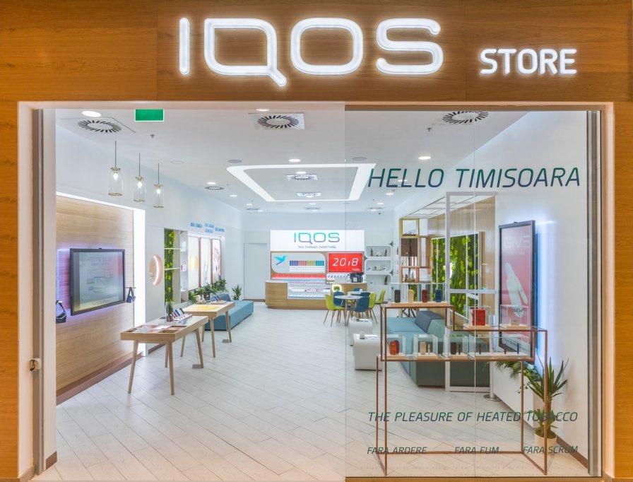 Philip Morris Trading deschide cel de-al patrulea IQOS Store din ţară, la Timişoara