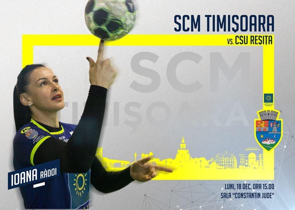 SCM Timisoara - CSU Resita