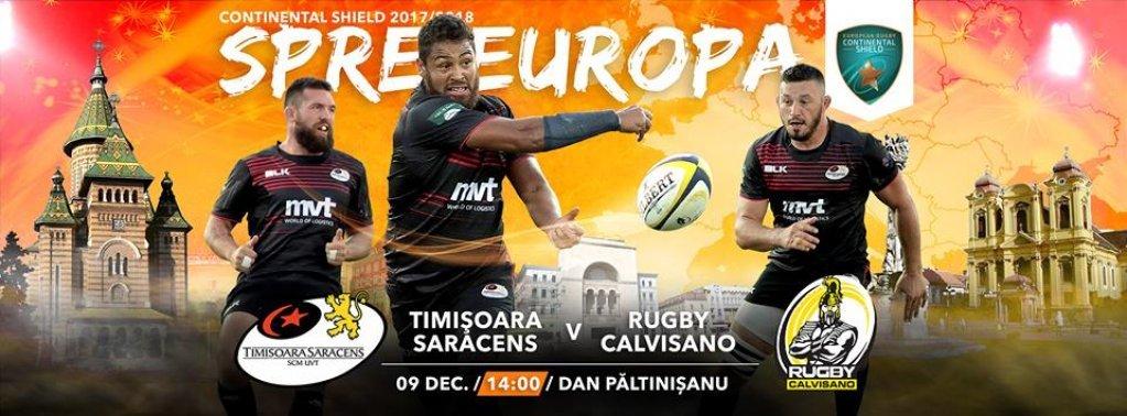 Timisoara Saracens - Rugby Calvisano
