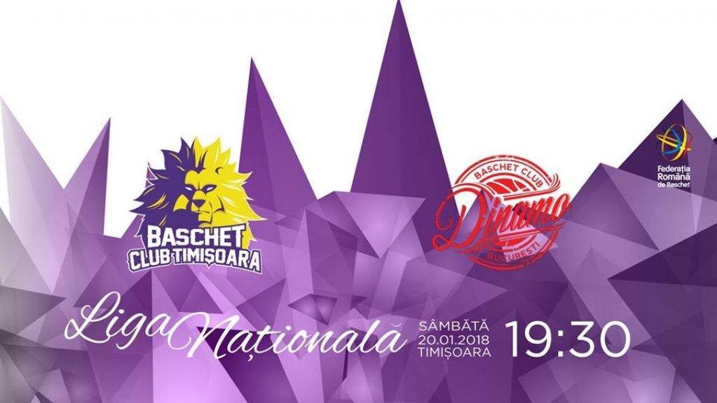 BC Timisoara - Dinamo Bucuresti