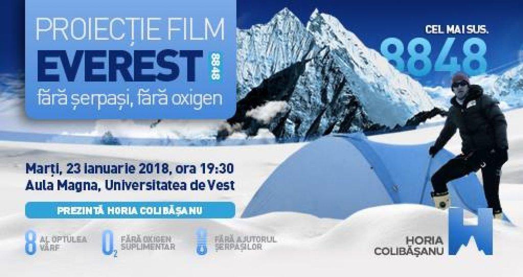 Horia Colibășanu pe Everest. Filmul expediției