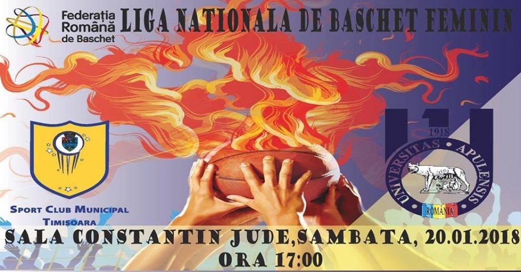 SCM Timisoara - CS Universitatea Alba Iulia