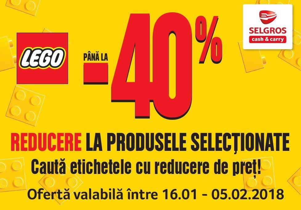 Reducere de până in 40% la LEGO
