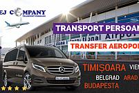 Transfer / Transport aeroport Timisoara - Budapesta