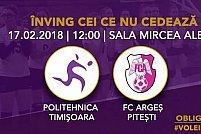 CSU Politehnica Timisoara - FC Arges