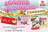 Dulciuri de la Selgros Timisoara