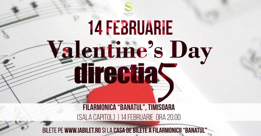 Concert direcția 5 - Valentine's Day