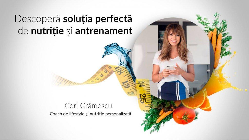 Seminar de nutritie si antrenament sustinut de Cori Grămescu