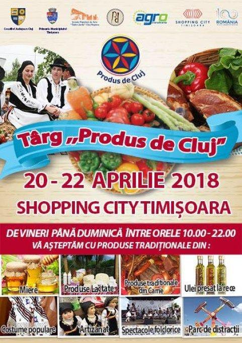Produs de Cluj la Timisoara