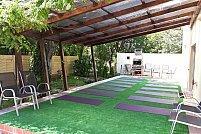 Yoga pentru detoxifiere si meditatie Eye Gazing in aer liber