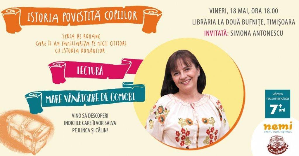 Istoria povestita copiilor cu Simona Antonescu