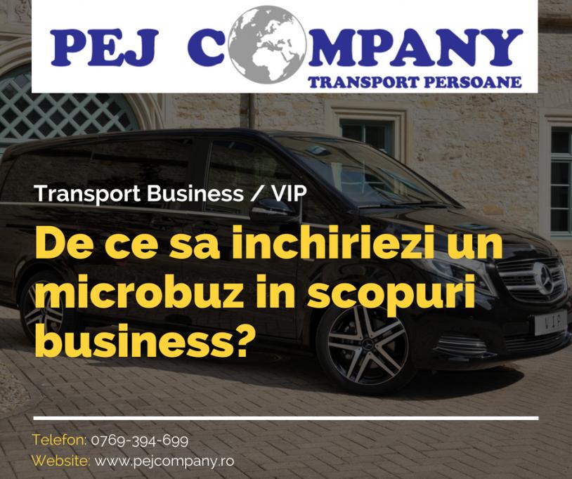 De ce sa inchiriezi un microbuz in scopuri business?