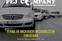 Firma de inchirieri microbuze in Timisoara