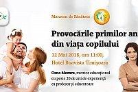 """Maratonul de Sănătate Secom® ajunge pe 12 mai la Timișoara și dezbate tema """"Provocările primilor ani din viața copilului"""""""