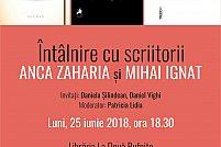 Intalnire cu scriitorii Anca Zaharia si Mihai Ignat