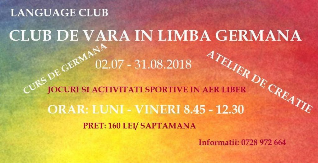Club de vara in limba germana