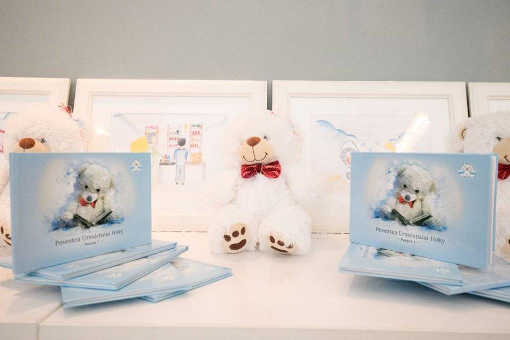 Prezentare Carte Povestea Ursuletului Hoky - eveniment caritabil