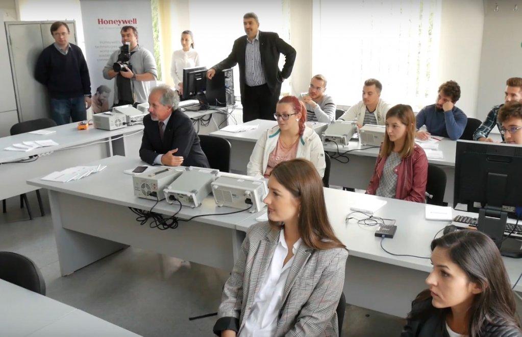 Un nou laborator Honeywell la Universitatea Politehnica Timișoara